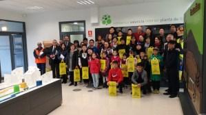 Una delegació procedent de la Xina visita les instal·lacions del Consorci València Interior a Llíria