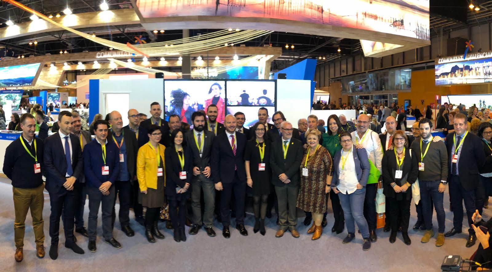 La Diputació mostra en Fitur la 'lluentor' del turisme valencià fruit de la col·laboració entre institucions i empreses