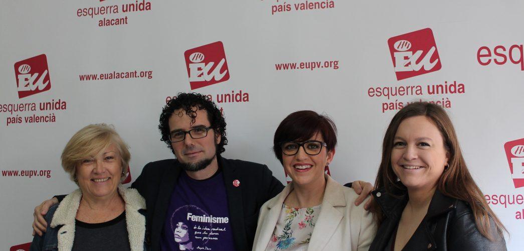 EUPV dóna el tret d'eixida a la campanya a Alacant