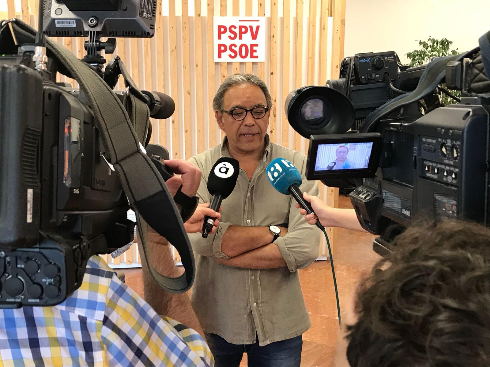 """Mata: """"Els representants de les dretes valencianes s'han comportat com uns patrioflautes sense que ningú els seguisca"""""""