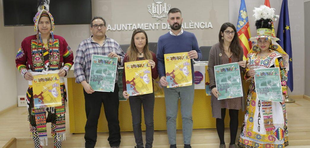 500 músics valencians posaran ritme a la novena edició del Carnestoltes de Russafa per festejar la interculturalitat