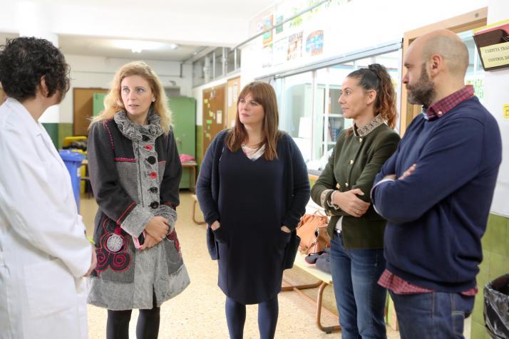 L'Ajuntament de Castelló consolida el servei d'infermera escolar
