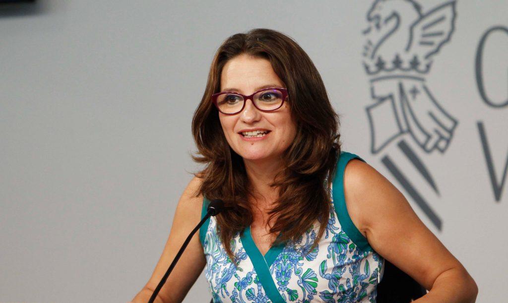 Oltra crida a la mobilització de tota la societat valenciana el 8M per la igualtat i l'empoderament de les dones