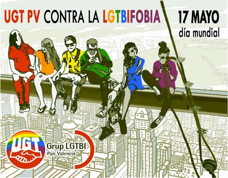 UGT-PV fa una crida al vot en les pròximes eleccions municipals i europees per a detenir el discurs d'odi, el masclisme i la LGTBIfobia