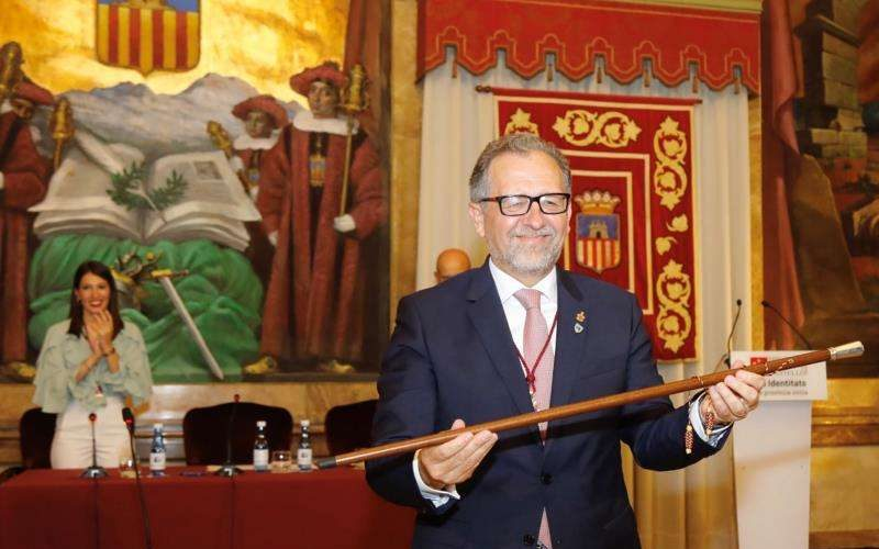 José Martí pren les regnes de la nova Diputació de Castelló