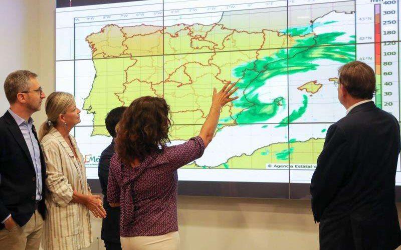 Activen l'alerta roja a la Comunitat Valenciana