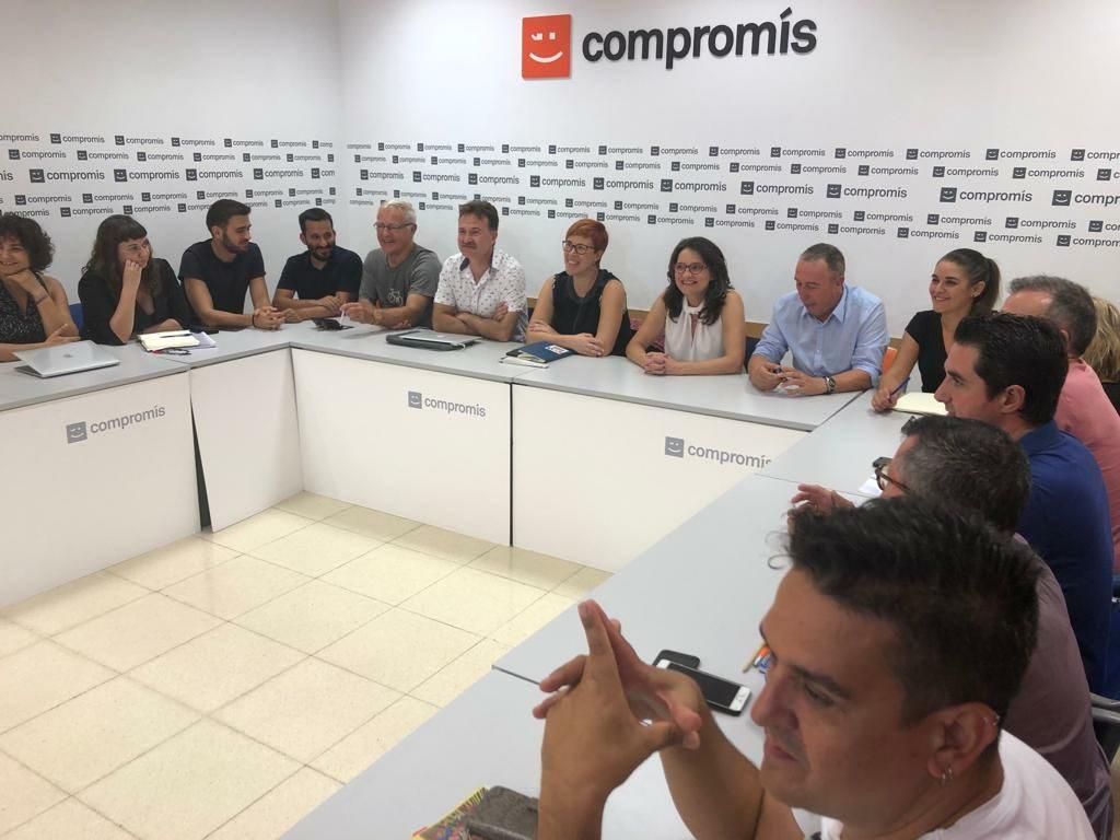 Compromís aposta per conformar una aliança amb Más Madrid i altres forces de l'Estat per al 10N que puga ser clau en la conformació d'un govern d'esquerres