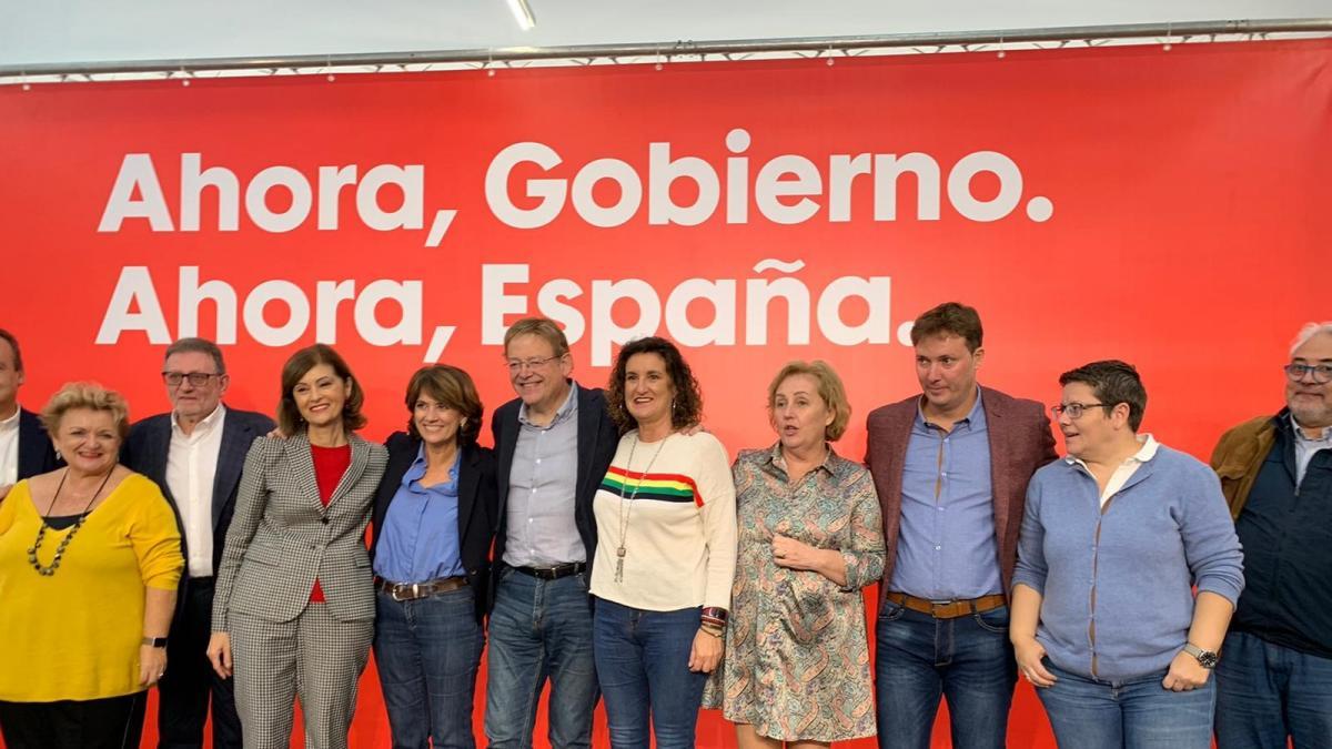 """La ministra socialista Delgado insta a Torrent a """"vèncer a l'abstenció"""" per a guanyar """"un futur"""""""