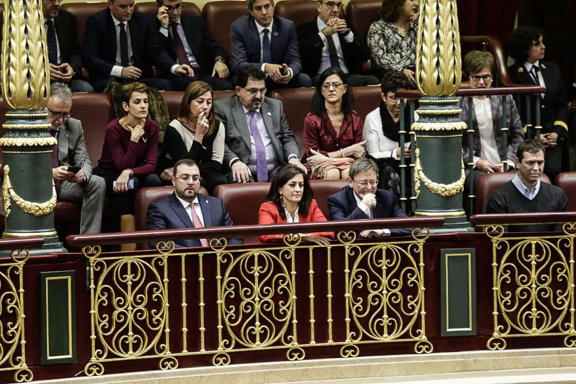 Ximo Puig celebra l'arribada d'un govern de progrés a Espanya que, com el valencià, situe les persones en el centre de les polítiques socials