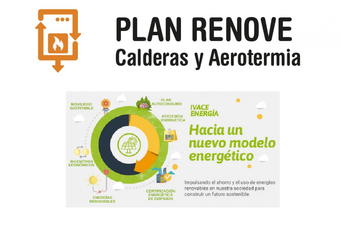 Ivace Energia inicia una nova edició dels plans Renove de calderes, aerotèrmia i finestres