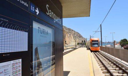 La Generalitat adjudica les obres d'actualització de la senyalització en la Línia 5 del TRAM d'Alacant entre Sangueta i Porta del Mar