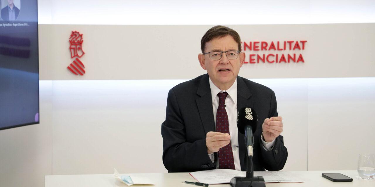 """Ximo Puig aposta per """"un gran acord"""" per a reformar el sistema de finançament: """"És una qüestió que ha d'estar per damunt de governs i partidismes"""""""