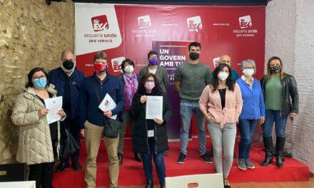 Unides Podem – Esquerra Unida dona suport a les huit propostes de la plataforma 'Iniciativa per una llei que garantisca el dret a l'habitatge'