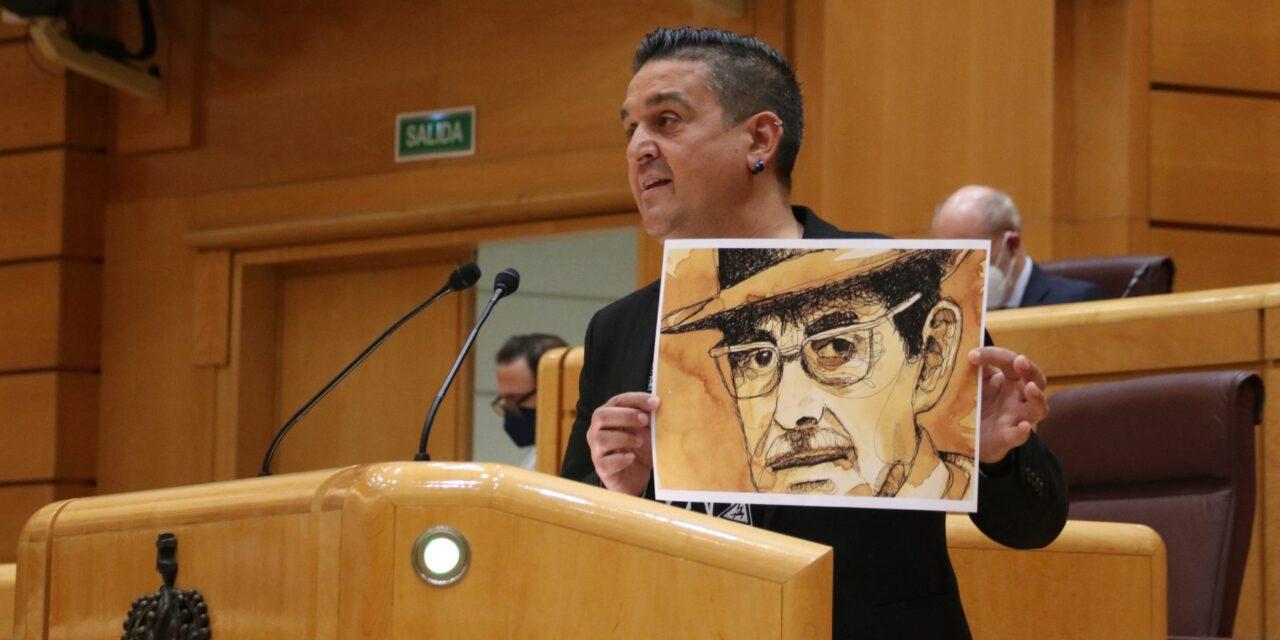 """Carles Mulet: """"Els botiflers podran esborrar el nom d'un carrer, però no podran esborrar ni la figura, ni la llengua ni el treball de Valor"""""""