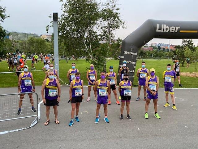 El CA Els Sitges de Burjassot es penja la plata en el Campionat d'Espanya absolut de 100 km