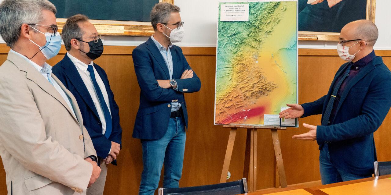Arcadi España: 'Els mapes sísmics de la Comunitat són fonamentals per a la planificació del territori i de les emergències'