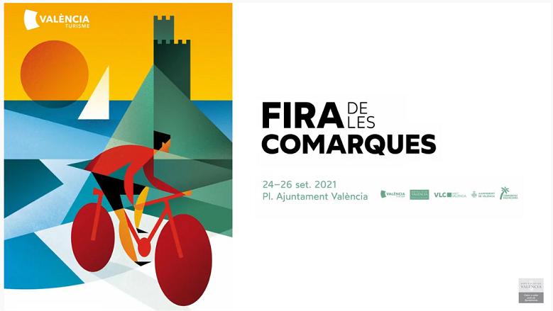 La Fira de les Comarques de la Diputació se celebrarà en la Plaça de l'Ajuntament del 24 al 26 de setembre